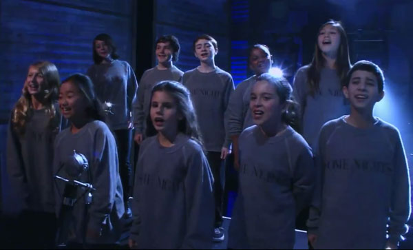 Los Angeles Choir Sings Backup on Conan O'Brien