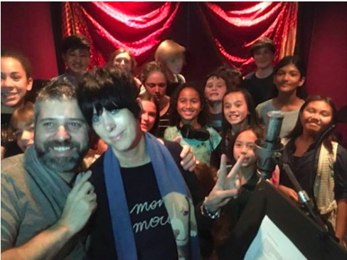 West L.A. Children's Choir sing DIANE WARREN Song in major Documentary