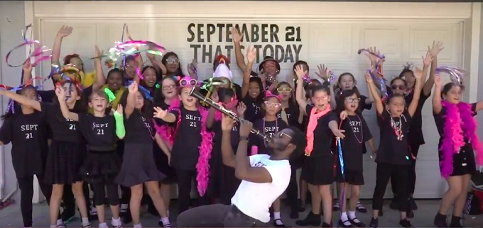 WLA Children's Choir PAYS TRIBUTE TO EARTH WIND AND FIRE's 'SEPTEMBER