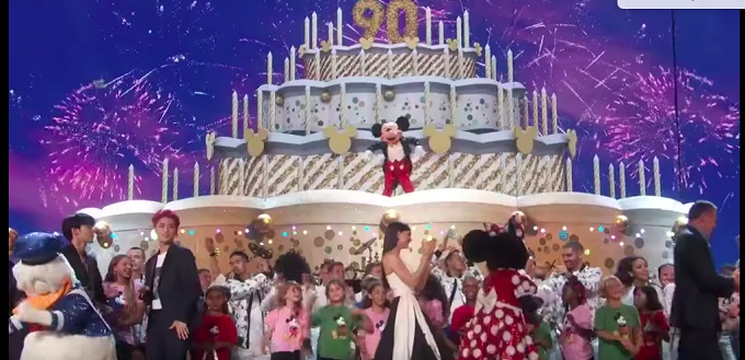 WLA Children's Choir Mickey Mouse's BIG 90th